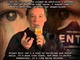 Silent Hill interview with Christophe Gans and Akira Yamaoka (subs English and Spanish)