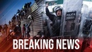 Alert: Tension Rising As Migrants Climb Over Wall At US-Mexico Border, Migrant Children Dropped
