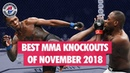 Best MMA Knockouts of November 2018 UFC, LFA, ONE