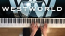 WestWorld (Piano Cover) - Sweetwater / Train Theme ( sheets)