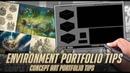 Environment portfolio tips for concept artists Video games