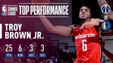 Troy Brown Jr. Drops 25! In The 2018 MGM Resorts Summer League #NBANews #NBA
