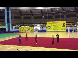 Dmitrii Simakov wushu team