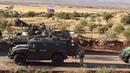 Прием тяжелой техники у боевиков Сирийской свободной армии.