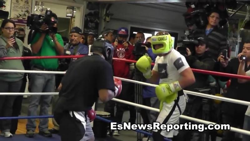 Canelo Alvarez Sparring Derek Innis 4 Min Rounds