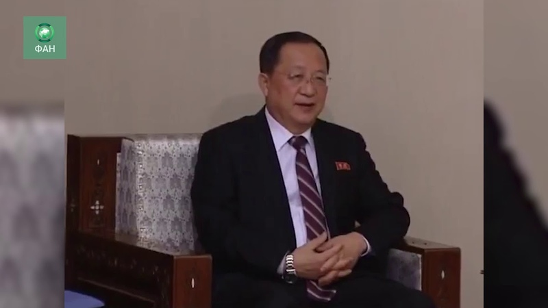 Сирия: ФАН публикует видео встречи глав МИД САР и Северной Кореи