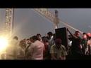 Manoj Tiwari pushed by Amanatullah Khan during inauguration of Signature Bridge