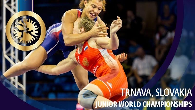 GOLD WW - 72 kg: E. ZAKHARCHENKO (RUS) v. K. LARROQUE (FRA)