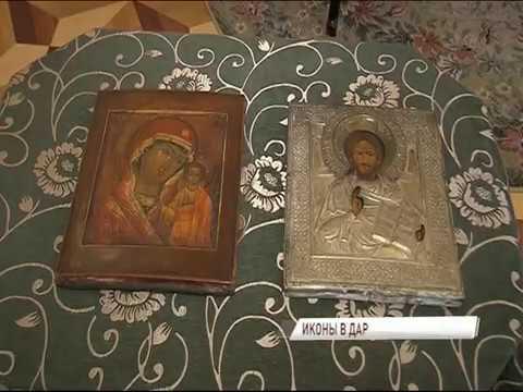 Дмитрий Миронов в День музеев передал комплексу «Карабиха» две иконы