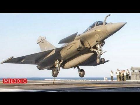 🔥 Истребители «Рафаль М» Франции на авианосце США «Джордж Буш»