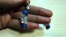 Серьги. Натуральные камни: янтарь, коралл, агат...... Jewellery made of natural stones.