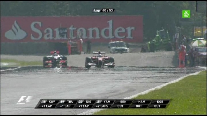 14.Carrera F1 Gp Italia 2010