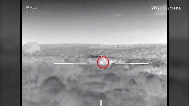 2 Turkish backed terrorists were killed in Sherawa
