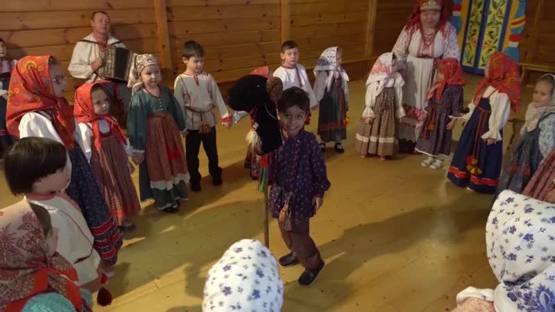 Фольклорный театр «Круговина» детская группа