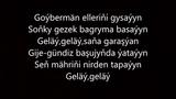 Syke dali ft Selbi-Gelay (Aydym sozleri) 2017