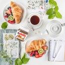 Просыпаться намного приятнее, когда тебя ждет вкусный завтрак! Распахни окно…