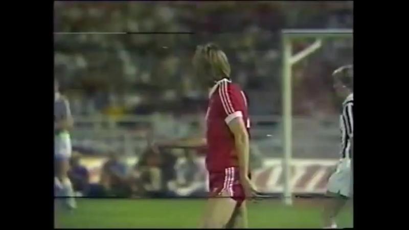 Кубок Европейских Чемпионов 1982/83. Гамбург (Германия) - Ювентус (Италия)