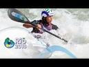 Finals C1w K1m 2018 ICF Canoe Slalom World Championships Rio Brazil