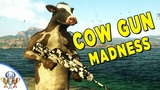 Just Cause 4 Cow Gun Easter Egg Location Cow-Moo-Flage (Udder Maddness) Turn Everyone into Cows