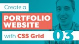 How to create a Portfolio Website with CSS Grid &amp Sass Part 3 Using CSS Grid &amp creating fallbacks