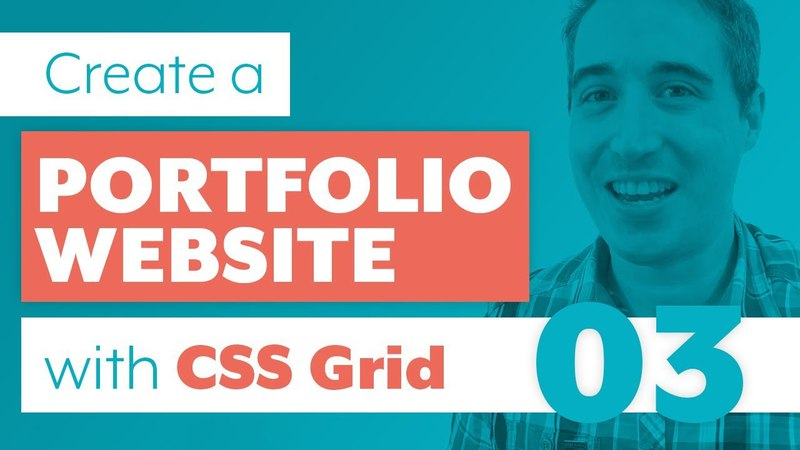 How to create a Portfolio Website with CSS Grid Sass | Part 3: Using CSS Grid creating fallbacks