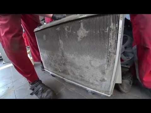 ТЦЛ. Highlander. Состояние радиатора на пробеге 100000км.
