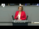 BAMF - v. Storch AFD im Bundestag aktuell zur Affäre