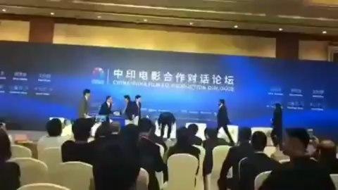 "Monika Lang on Instagram: ""@iamsrk arrives at the India-China Film Co-production Dialogue at a Beijing hotel BJIFF2019 BeijingInternationalFilm..."