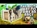 How To Tame an Argentavis Solo(Easy!)Build an advanced Dino Taming Pen-Ark Survival Evolved Xbox One