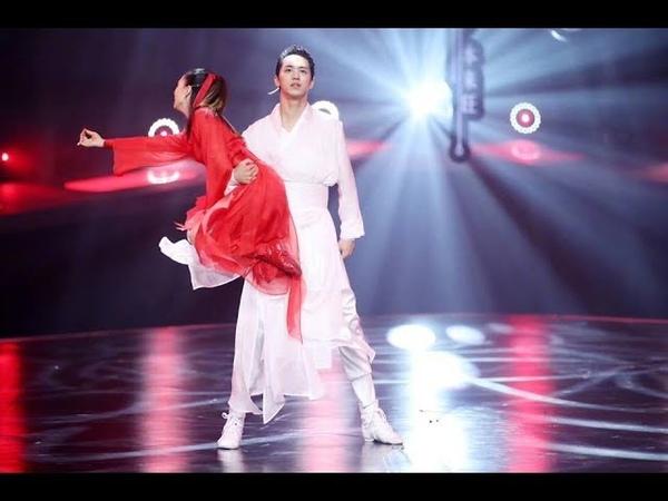 (NO EDIT) 180916 Shake It Up Xu Weizhou the Chinese ancient style rumba of《如歌》新舞林大会 许魏洲 古风白衣