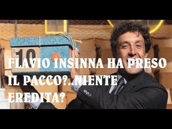 BOMBA IN RAI L'EREDITA' LA VOCE ESPLOSIVA.FORSE FANNO FUORI FLAVIO INSINNA.