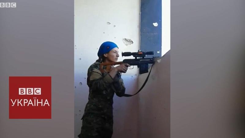 Снайперська дуель куля бойовика пройшла біля голови