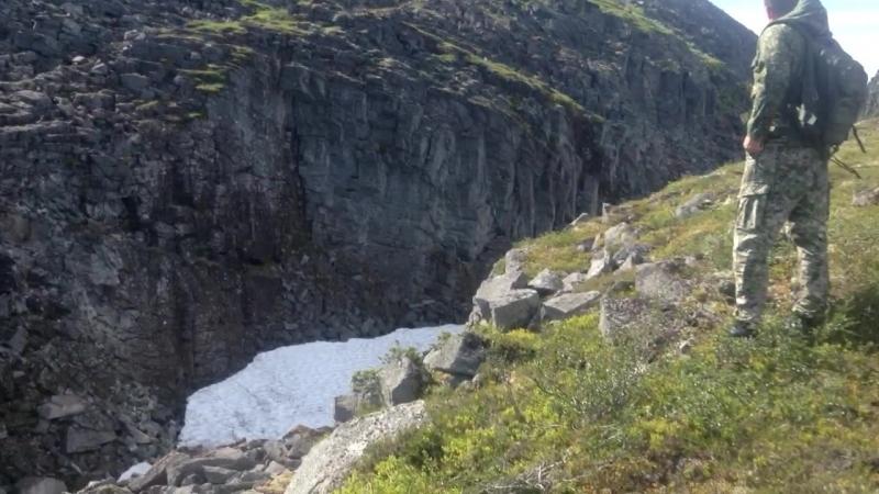 Подъём в Ловозерские горы - эп.6: Каньон и лёд