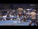 Kento Miyahara Yoshitatsu Naoya Nomura Billy Ken Kid vs Joe Doering Yuji Hino Dylan James Yusuke Okada AJPW Champion Car