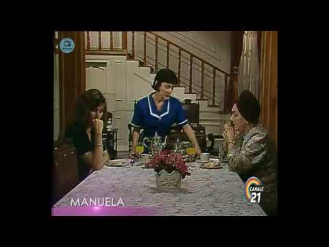 🎭 Сериал Мануэла 216 серия, 1991 год, Гресия Кольминарес, Хорхе Мартинес.
