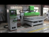 Tunisia 4 axis 12 heads High Presicion Multi-heads 3D Woodworking CNC Router Machine with Multi-Rotary axis