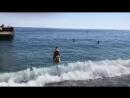 Самое синее в мире Черное море моё. А у вас как погодка?