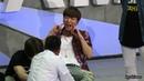 "27/02/16 Super Junior Special Event ""Super Camp"" in Beijing - Foot Massage"