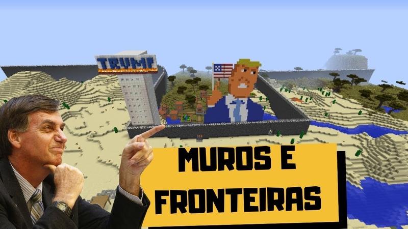 BOLSONARO X IMIGRANTES E O MURO DO TRUMP
