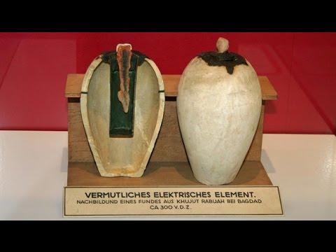 Самая древняя электрическая батарейка в мире(Багдатская батарейка)