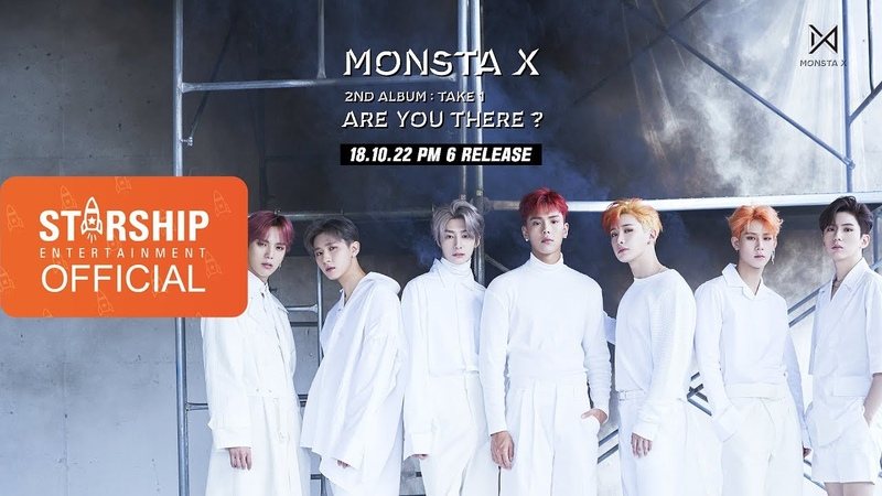 Preview 몬스타엑스 MONSTA X 'ARE YOU THERE ' The 2nd Album Take 1