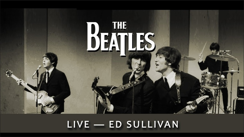 Beatles -- Ed Sullivan Live 1965 -- [ film highlights -- great! ]