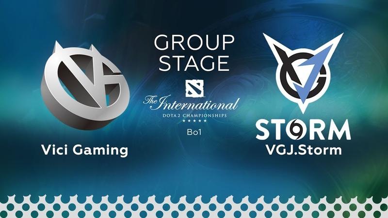 VG vs VGj.S @Map1 Highlights | The International 2018 (15.08.2018)