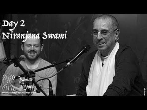 Radhadesh Mellows 2018 - Day 2, Niranjana Swami