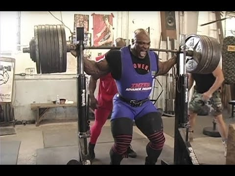 Ronnie Coleman LEG DAY - World Bodybuilder Workout