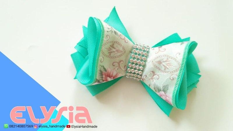 Laço Dream Mila 🎀 Mila Ribbon Bow 🎀 DIY by Elysia Handmade