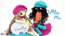 Muñeca articulada crochet - Muñeca de ganchillo Mia y Mei SORTEO