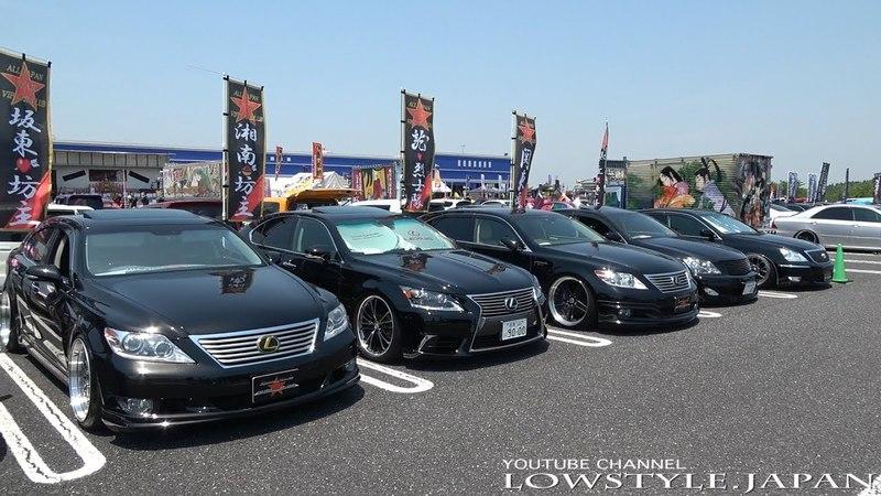 2017 第19回 ユニオン杯 チーム軍団賞 親父VIP レクサスLS セルシオ クラウン 車高30