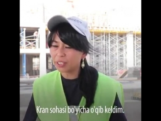 Tashkent City қурилишида энг баланд кранни тошкентлик қиз бошқармоқда  https://t.me/joinchat/AAAAADv7jmaa_ECIP2kiTA