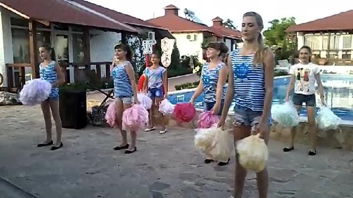 Батальненский Дом культуры, танцевальная группа ФРЭШ, танец Давай!